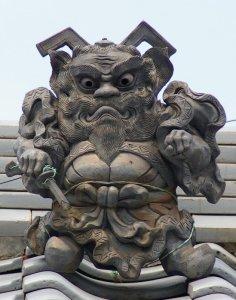 笠寺のパワフル鍾馗さん