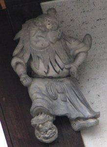 伊賀市上野西大手町の鍾馗さん