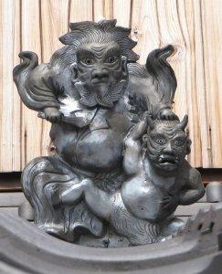 伊賀市三田の鍾馗さん