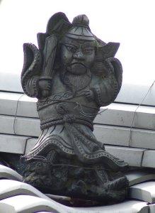 奈良市古市町の鍾馗さん