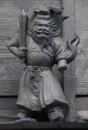 知多市八幡の鍾馗さん
