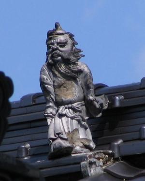 三好市井川町辻の鍾馗さん