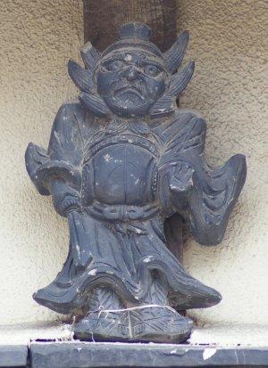 堺市北区長曽根町の鍾馗さん