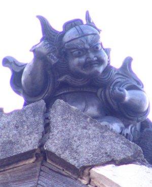加古川市米田町平津の鍾馗さん1