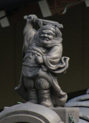 御津町泙野の鍾馗さん