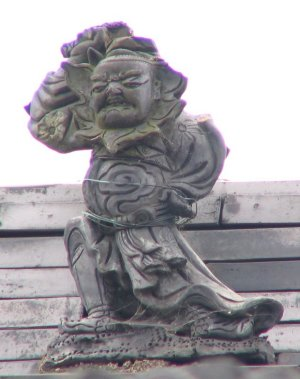 橋本市清水の鍾馗さん