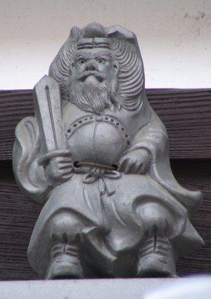 京都市下京区新町通の鍾馗さん