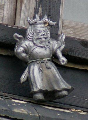 南知多町内海の鍾馗さん