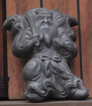 京都市上京区浄福寺通の鍾馗さん