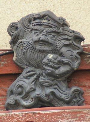 京都市下京区東洞院通の鍾馗さん