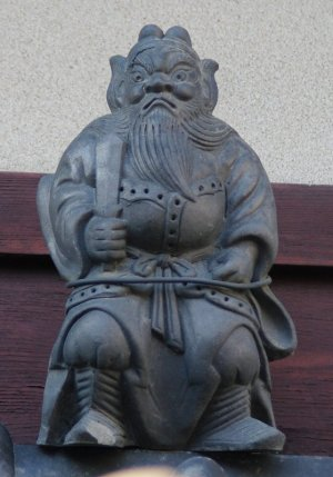 京都市上京区中長者町通の鍾馗さん