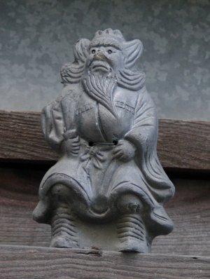 京都市下京区中堂寺通の鍾馗さん
