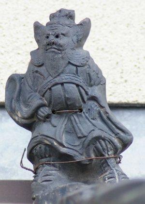 京都市北区平野通の鍾馗さん