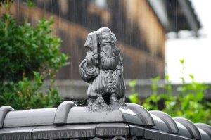 雨と鍾馗さん