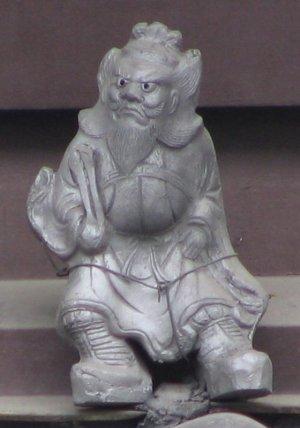 京都市中京区西洞院通の鍾馗さん