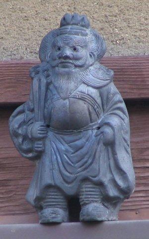 京都市中京区新町通の鍾馗さん
