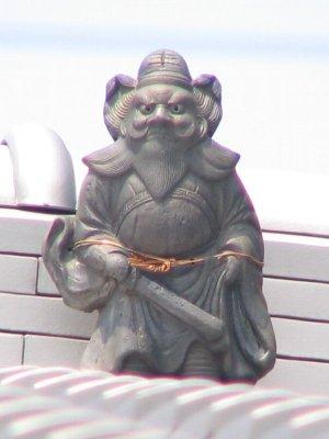 京都市上京区二番町の鍾馗さん