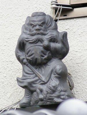 京都市上京区大宮通の鍾馗さん