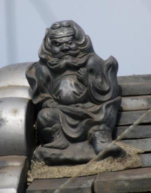 貝塚市半田の鍾馗さん