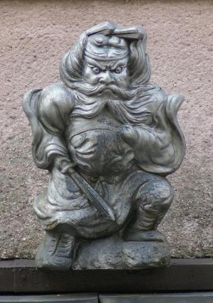 京都市中京区油小路通の鍾馗さん