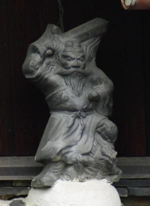 京田辺市薪里ノ内の鍾馗さん