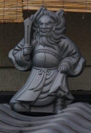 京都市上京区日暮通の鍾馗さん