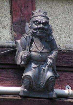 京都市上京区三条殿町の鍾馗さん