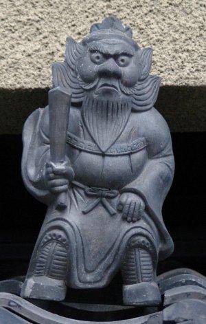 京都市下京区島原上之町の鍾馗さん