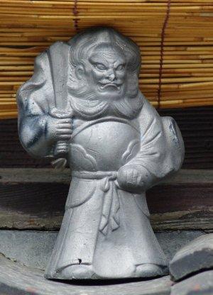 京都市上京区猪熊通の鍾馗さん