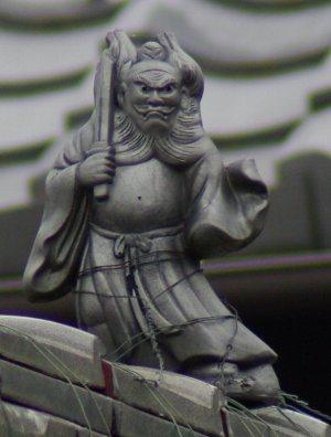 日野町上野田の鍾馗さん