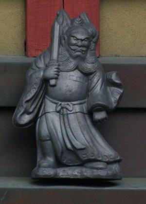 京都市北区紫竹西南町の鍾馗さん