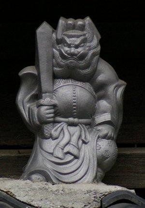 京都市下京区間之町通の鍾馗さん