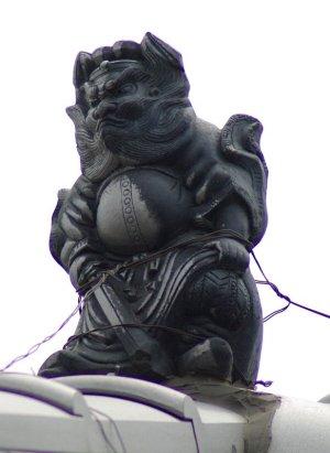 西尾市桜町の鍾馗さん