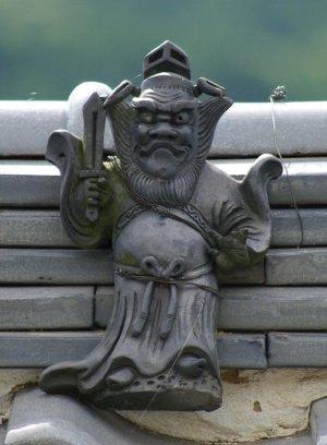 奈良市大柳生町の鍾馗さん