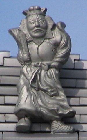奈良市芝新屋町の鍾馗さん