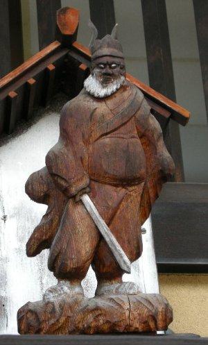 塩尻市奈良井の鍾馗さん