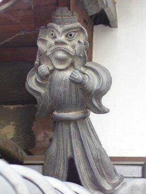 伊賀市上野向島町の鍾馗さん