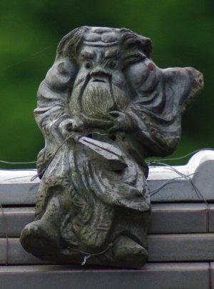 日野町別所の鍾馗さん