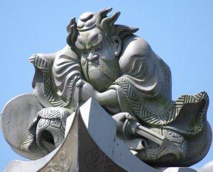 野洲市木部の鍾馗さん