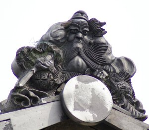 東近江市綺田の鍾馗さん