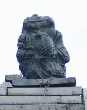 日野町清田の鍾馗さん