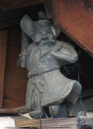 常滑市熊野町の鍾馗さん