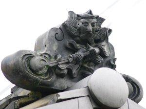 橋本市大野の鍾馗さん