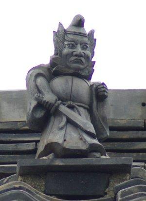 西尾市瓦町の鍾馗さん【消失】