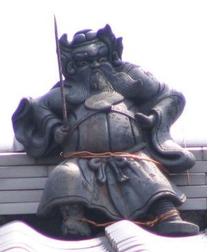 上京区六番町の鍾馗さん【消失】