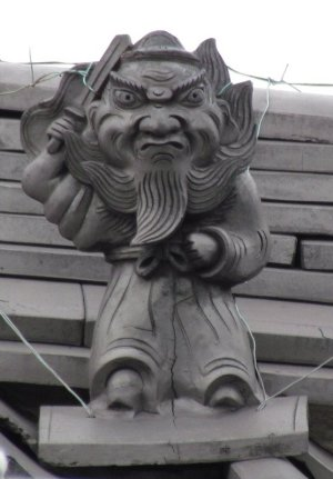 大垣市内原の鍾馗さん