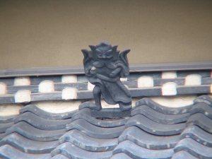天理市長柄町の鍾馗さん(#0020 2005年10月)