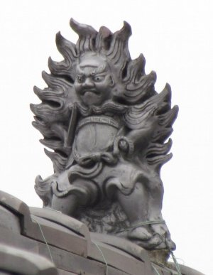 太子町蓮常寺の鍾馗さん
