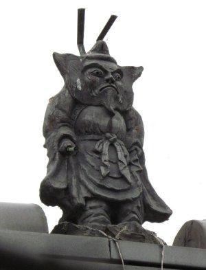 会田宿の鍾馗さん1