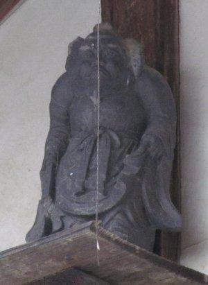 会田宿の鍾馗さん2